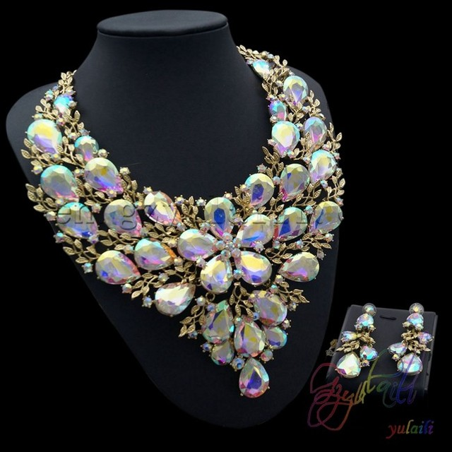 big costume jewelry sets High quality artificial bridal jewellery set zinc alloy slide jewelry set & big costume jewelry sets High quality artificial bridal jewellery ...
