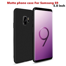 купить Case For Samsung S9 4GB Silicone color Matte soft shell Cover S 9 Global Edition 5.8inch Snapdragon 845 shipping дешево