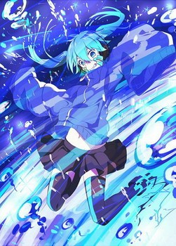 Mekakucity Actors Anime Enomoto Takane 57*41CM Wall Scroll Poster #37350 image