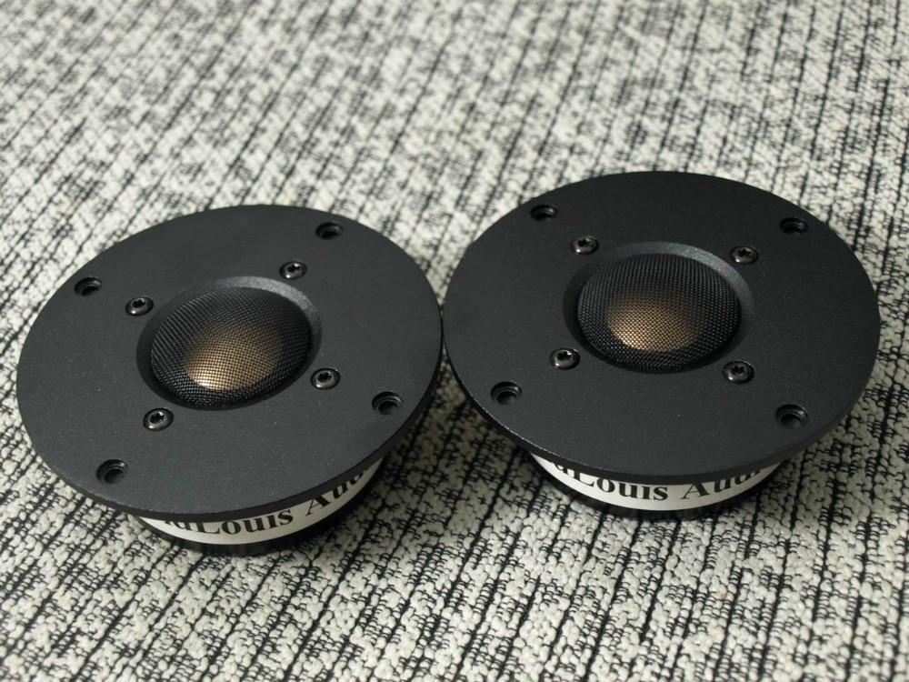 pair Melo David davidlouis audio SUPER copper&Beryllium alloy dome tweeter . KO XT25 D25 D2095 9300  free ship