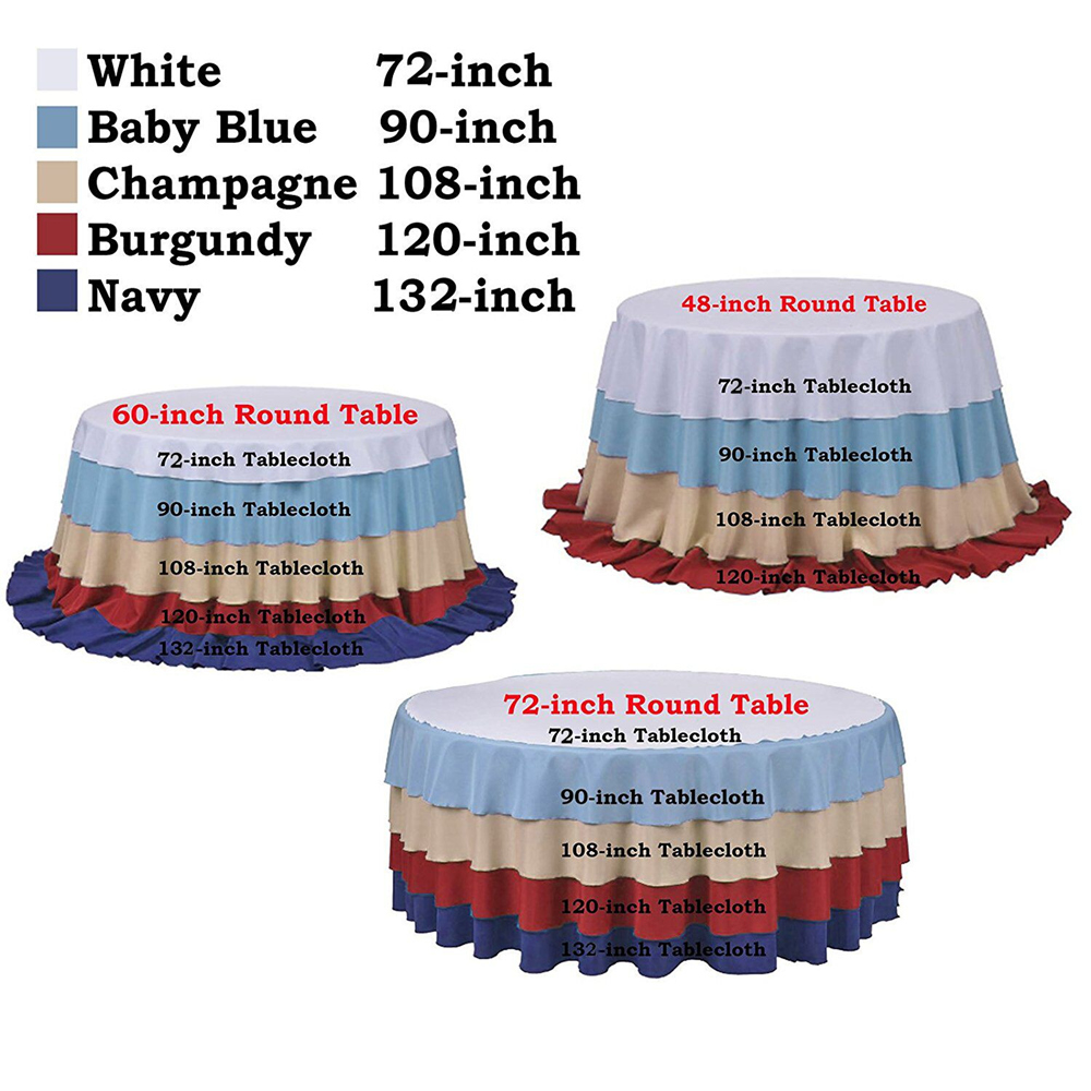 Gold Sequin Tablecloth 50 Inches Round Table Cloth For Wedding Party Banquet In Tablecloths From Home Garden On