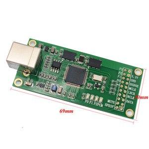 Image 4 - Lusya XU208 Xmos USB דיגיטלי אודיו ממשק U8 שדרוג אסינכרוני Amanero מודול עבור Hifi מגבר A3 003