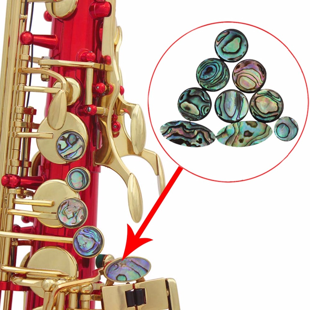 Guitar Parts & Accessories Guitar Fingerboard Dots Accessories 20pcs 6mm Colorful Abalone Shellfish Inlay Fingerboard Dots For Mandolin Guitar Perfect In Workmanship Sports & Entertainment