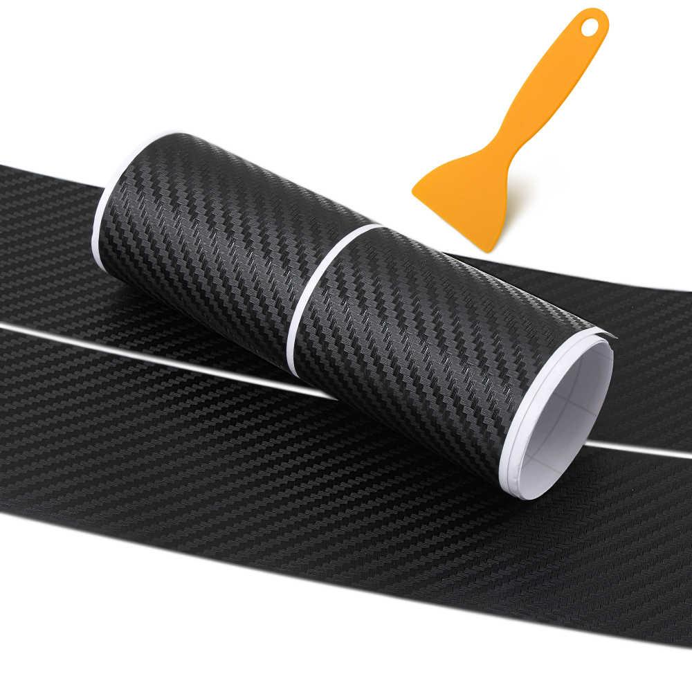 In fibra di carbonio Car Rear Bumper Sticker per bmw E36 E39 E46 E53 E60 E61 E64 E70 E71 E85 E87 E90 e83 F10 F20 F21 F30