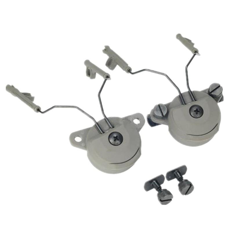 Комплект навушників EX для навушників і комплект адаптерних кронштейнів GEN1 для навушників Comtac I / II Чорний DE FG