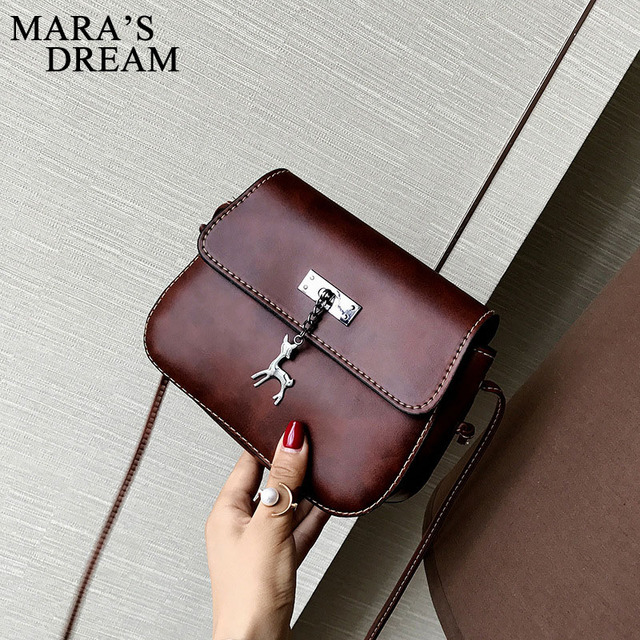 Mara's Dream Shell Women Messenger Bags High Quality Cross Body Bag PU Leather Mini Female Shoulder Bag Handbags Bolsas Feminina 3