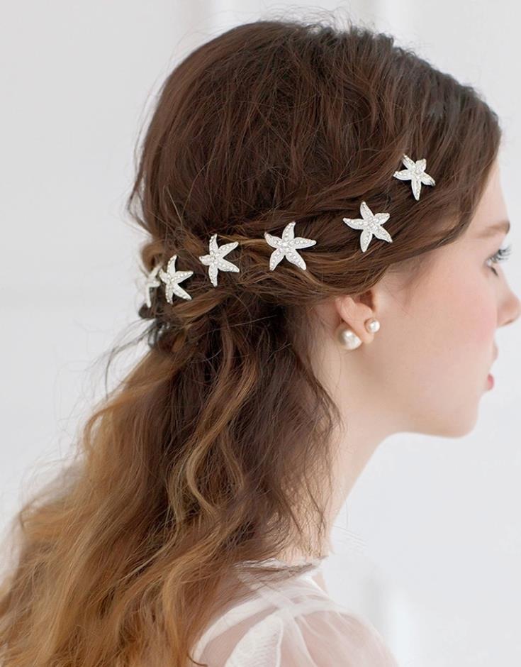 Buy 6pcslot Rhinestone Wedding Hairpins