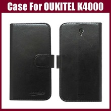 OUKITEL K4000 Case New Arrival High Quality Flip Leather Exclusive Phone Cover Case For OUKITEL K4000 Case