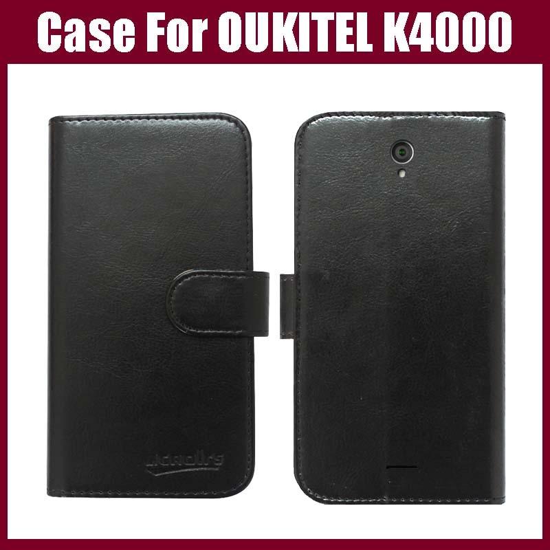 OUKITEL K4000 Hülle Neuankömmling Hochwertige exklusive Telefonhülle aus Flip-Leder für die OUKITEL K4000 Hülle