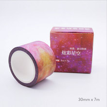 30mm*7m Life series Hand account washi tape DIY decoration scrapbooking planner masking tape adhesive tape label stationery цена и фото