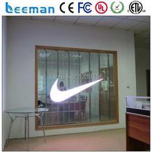 Leeman оптоэлектронные технологии ограниченной — витрины цифровой рекламы шэньчжэнь прозрачное стекло из светодиодов для стеклянная стена