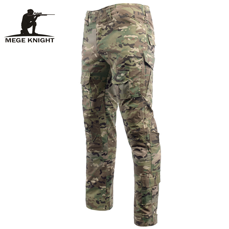 Mege Tactical Combat Pants Army Camouflage Cargo Pants Military Clothing Multicam Airsoft Work Clothes For Men Mandrak Navy Seal
