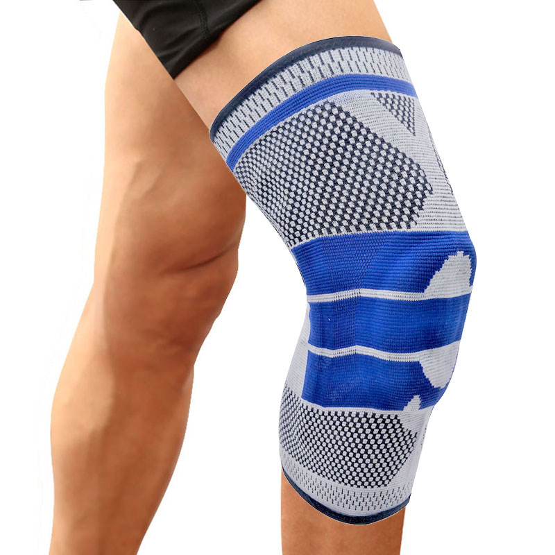 1 Pcs Spring Support Knee Pad Brace Silicon Padded Kneepad TIMOWIN Brand Gym Outdoor Sport Ridding Knee Guard Warm Protector mens thickening football volleyball extreme sports knee pads brace support protect cycling knee protector kneepad ginocchiere