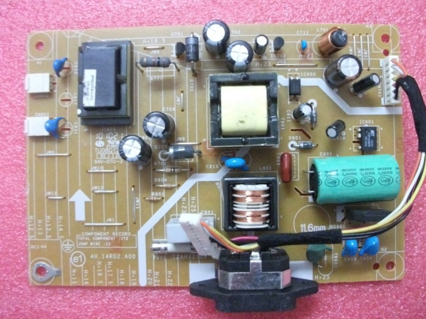 Free Shipping>Original IN1920B power board 4H.14R02.A00 screen M185CW01-Original 100% Tested Working free shipping original 100% tested working fp222w driver board q22w6 board fp222w board of 4h 03v01 a00 signal