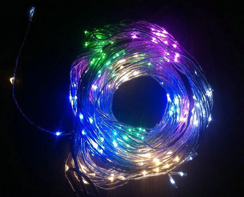unids m led cortina de secuencia de hadas de luz mini vid bombilla dcv