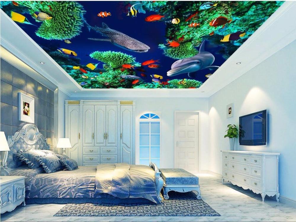 benutzerdefinierte foto 3d tapete decke mural vlies. Black Bedroom Furniture Sets. Home Design Ideas