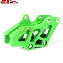 Dirt bike motocross chain guide Guard Protector fit KAWASAKI KXf250F KX450F parts and accessories motorcycle racing green plastic chain guard protector for motocross kawasaki kxf kx450f kx250f dirt bike