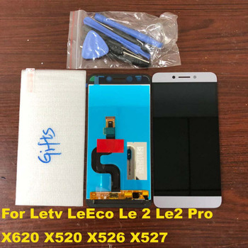 ORIGINAL Le2 X527 X520 X522 For LeTV LeEco Le 2 Display LCD Touch Screen for LeEco S3 X626 LCD Display Le 2 Pro X620 X526 Gray