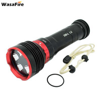 18650 Dive Flashlight Scuba Diving Torch XM L L2 Underwater 100m High Power Lantern Waterproof Video Lamp For Camping Hunting
