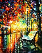 palette knife oil painting  modern oil painting canvas oil painting  K369