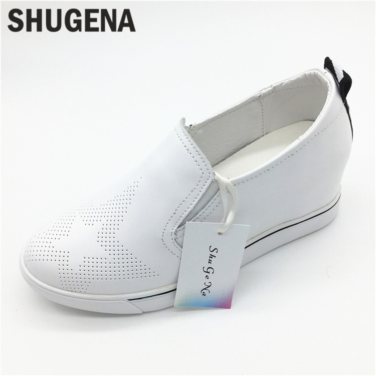C16 Women Genuine Leather Shoes Flats Slip On Shoes Women zapatillas mujer Casual Ballet Flats Womens Moccasins Flat Shoes 2017 wholesale hot breathable mesh man casual shoes flats drive casual shoes men shoes zapatillas deportivas hombre mujer