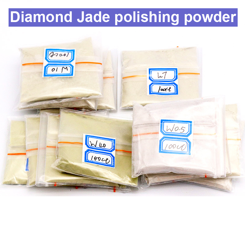 URANN 20g W0.5~W40 320~10000 Mesh Jade Polishing Powder Diamond Micron Powder Polishing Tools For Gemstones Ceramics Carbide