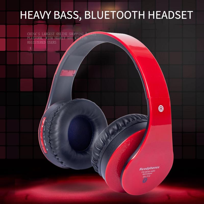 DPRUI Wireless Headphone Bluetooth Earphones Bass Stereo Headphone wireless Foldable Sport Headset With Microphone For Phone rapoo h8030 2 4ghz wireless headphone headset w microphone black