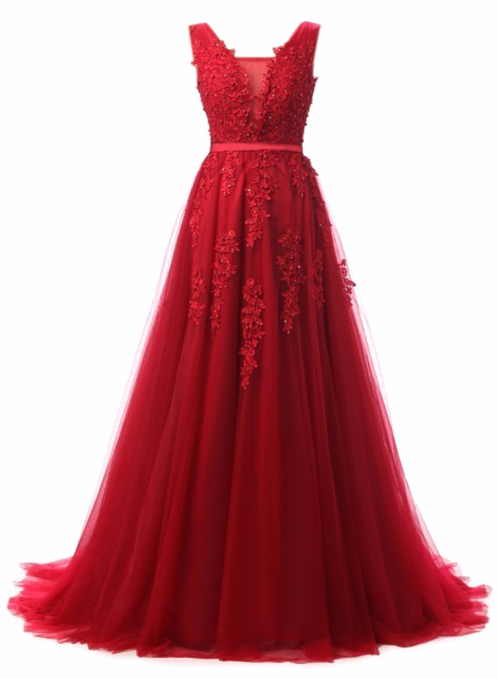 Bealegantom 2018 New Cheap Pink Red Blue Prom Dresses