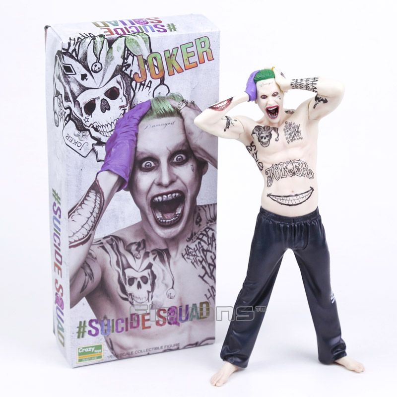 Crazy Toys Suicide Squad The Joker 1/6th Scale Collectible Figure Model Toy 12 30cm collectible 1 6th ismael