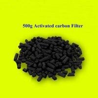 Nieuwe 500g Bio Carbon Filter Media Aquarium Fish Waterzuivering Chemische adsorptie Hout Kokosnoot Turf Carbon