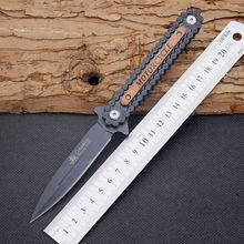 440C Steel Blade Folding Knife Motorcycle Survival Knifes Pocket Hunting Tactical Knives Camping Outdoor EDC Tools Y29