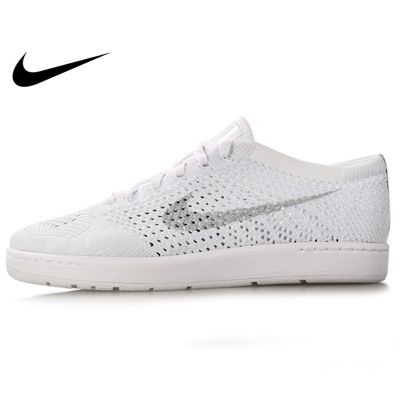 Original Authentic NIKE TENNIS CLASSIC ULTRA FLYKNIT Women's Tennis Shoes Sneakers Outdoor Walking Jogging Comfortable Durable