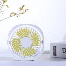 Junejour (Tropfen verschiffen) 3 Speed Mini USB Desktop Fan Tragbare Lüfter mit 360 Rotation Einstellbar Winkel Reisen(China)