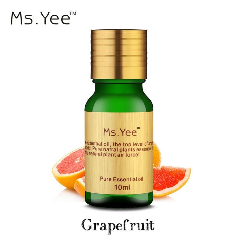 Olejek grejpfrutowy 100% czysty naturalny olej najwyższej jakości od Citrus Racemosa łagodzi ból nerwowy Ból miesiączkowy 10 ml