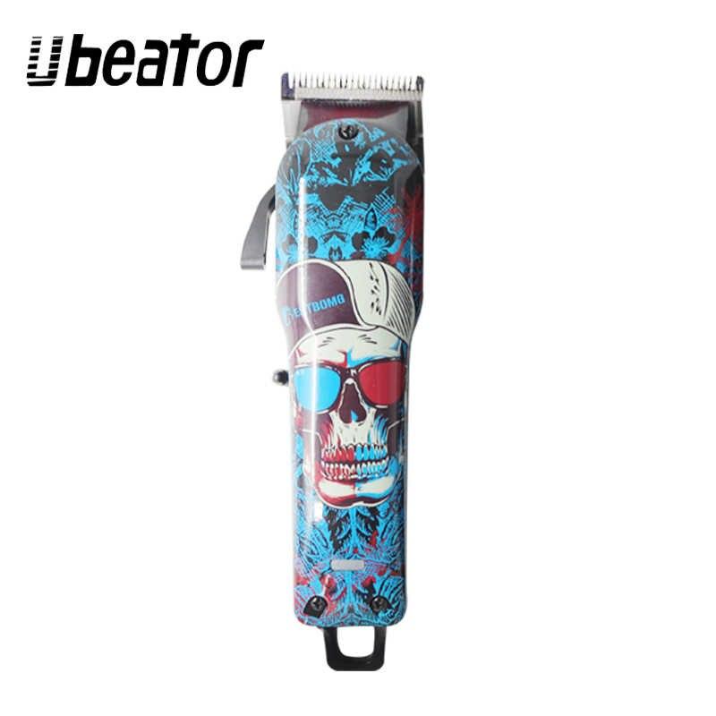 100-240 в перезаряжаемая профессиональная машинка для стрижки волос, электрический триммер для волос, мощный резак, машинка для стрижки волос, беспроводная стрижка