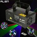 ALIEN удаленный 3D RGB 400 МВт DMX 512 лазерный сканер проектор сценический светильник ing эффект вечерние Рождество DJ диско-шоу светильник s полноцвет...