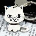 Creative Funny Gift Nice Moving Lovely Cat Keychain Keyring Key Chain Ring Key Fob Holder 85709