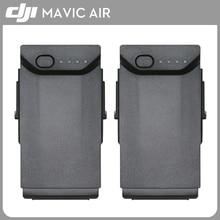 Original 2PCS DJI Mavic Air Battery Intelligent Flight Batteries Max 21-min Flight time 2375mAh 11.55 V For Mavic Air Drone for dji phantom 4 series intelligent flight battery 5350mah high capacity phantom 4 pro battery max 30 mins flight time