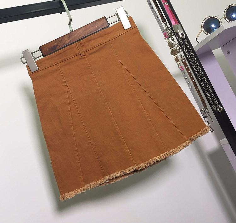 HTB1.Ul7OVXXXXbAXXXXq6xXFXXX5 - American Apparel button Denim Skirt JKP265