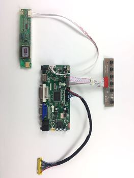 M.NT68676.2A HDMI DVI VGA AUDIO LCD Controller Board for B154PW01 B154PW02 1440x900 CCFL LVDS LCD AD Board raspberry pi