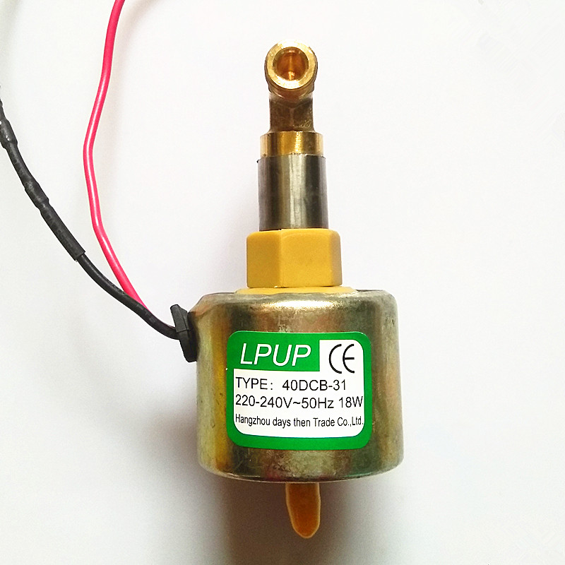 Fog machine Oil Pump Model 40DCB-31 Voltage 220-240V-50Hz Power 18W