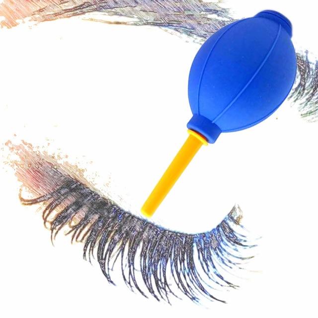 Eyelashs Extensão Mini Silicone Air Blower Secador de Ar Secador de Bolas Bola De Borracha Seca Cílios Cola secador Soprador de Ar de Secagem Rápida ferramenta