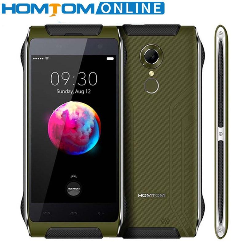 HOMTOM HT20 PRO IP68 Smartphone Impermeabile MTK6753 3G RAM 32G ROM Octa Core Phone 8.0MP 4.7 Pollice 4G Posteriore Fingerprint ID FDD-lte