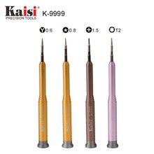 kaisi Precision T2/ 0.6 Y Tip/ 0.8 Pentalobe/ 1.5 Phillips Cross Head Screwdriver For iPhone 7 8 X Opening Repair Tools