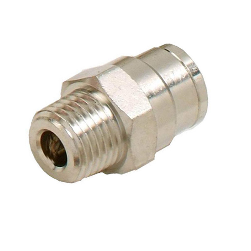 L045 HAIGINT 5 stk. Højtryk Misting Connector 1/4 'Male Connector 3/8' Quicking Pushing Montering