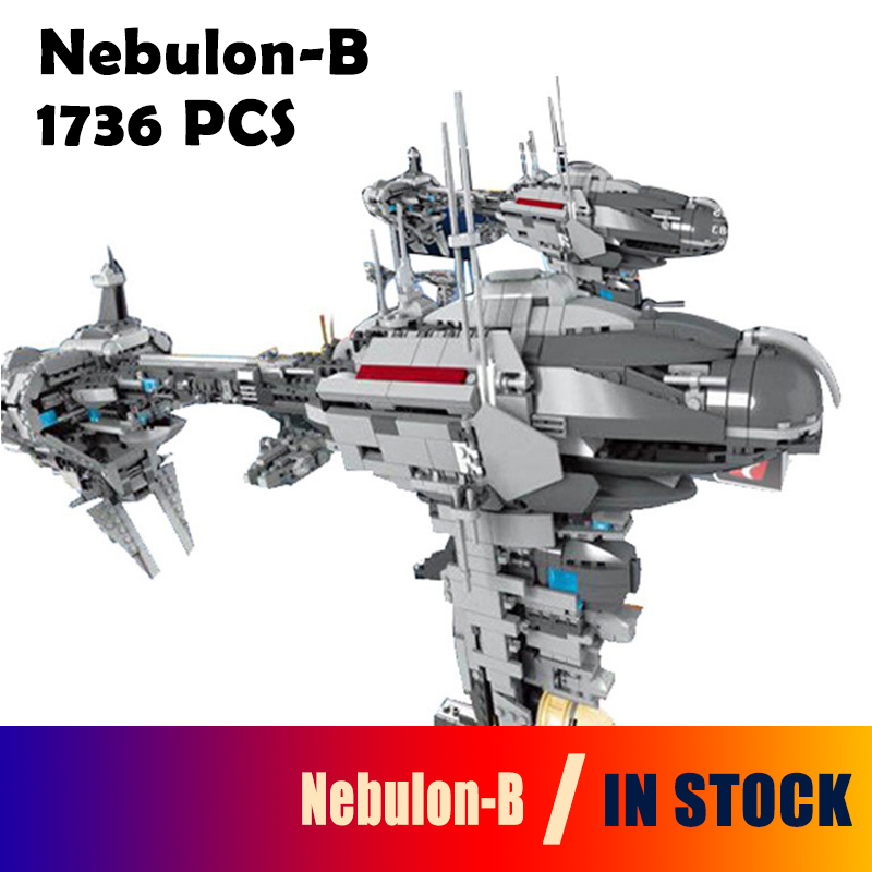 Model Building Blocks Compatible with Lego 05083 Star Series War MOC The Nebulon-B Set Medical Frigate for Children Bricks Toys 2015 high quality spaceship building blocks compatible with lego star war ship fighter scale model bricks toys christmas gift