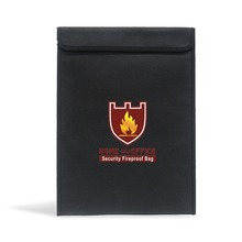 Document Security Bag Fireproof Safe Household Explosion-Proof Plane