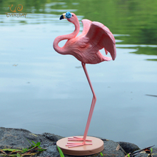 Everyday Collection Cute Pink Flamingo Home Decoration Animal Figurine Fairy Garden Wedding Party Ornament Christmas Lovers Gift