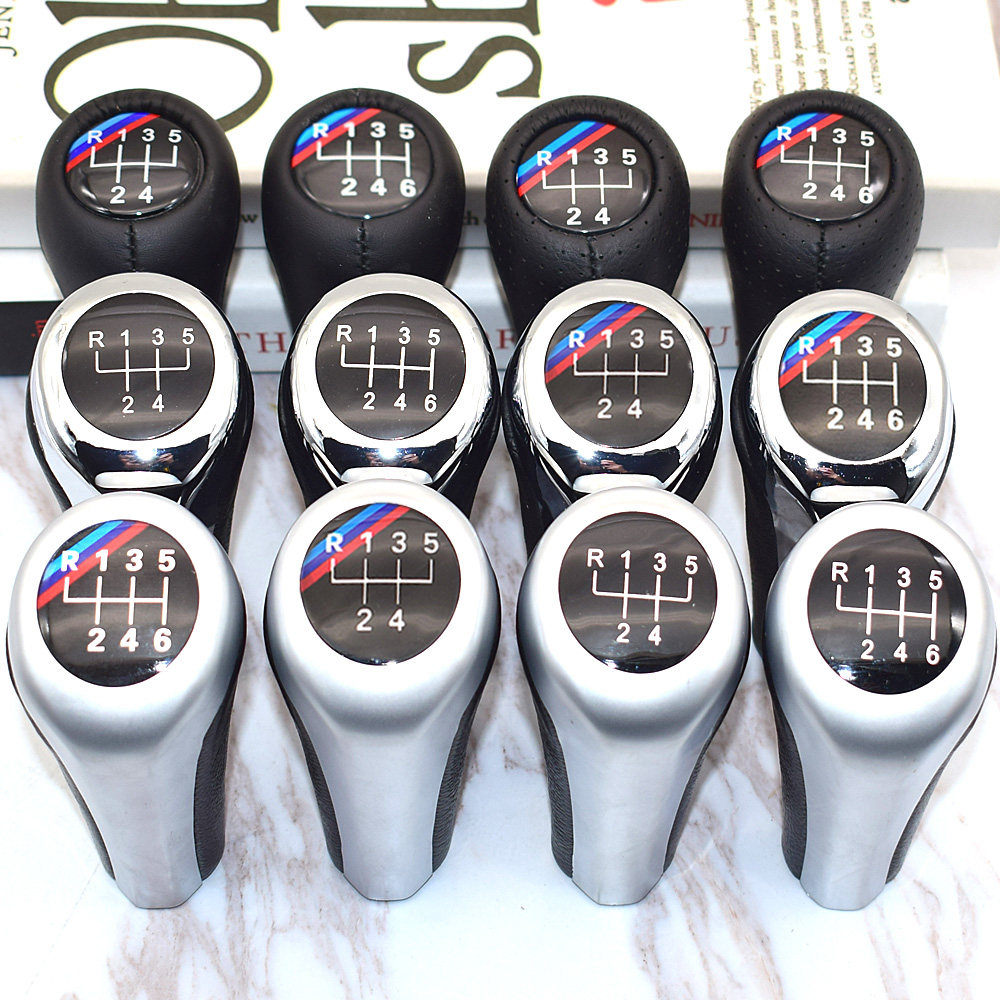 5 Speed <font><b>6</b></font> Speed Car Gear Shift Knob For BMW 1 <font><b>3</b></font> 5 <font><b>6</b></font> Series E30 E32 E34 E36 E38 E39 E46 E53 E60 E63 E83 E84 E90 E91 F30 Z5 F20 M3 image