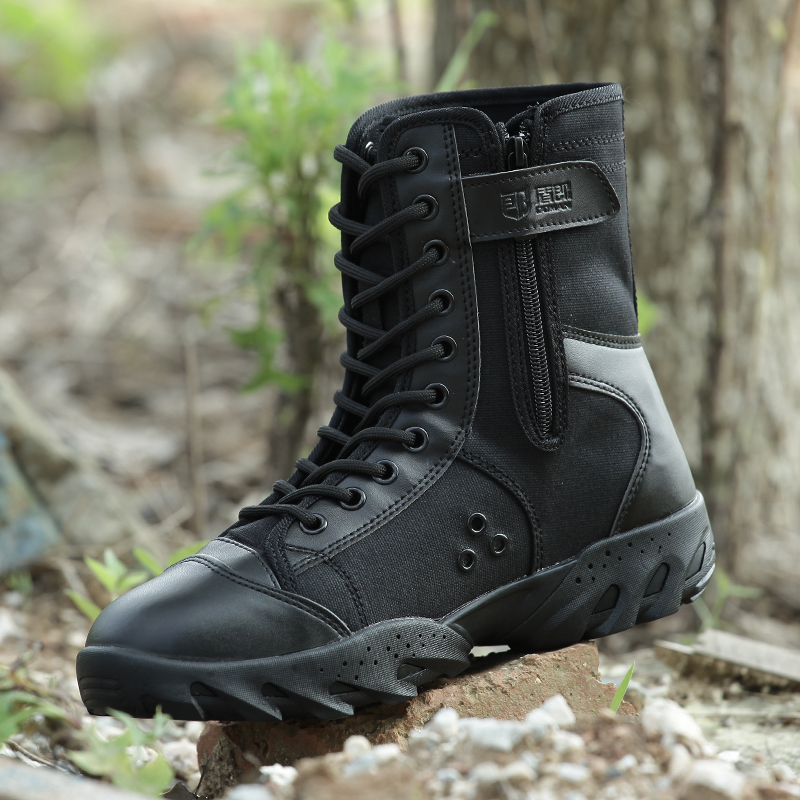 fe5787dcb0e2 Military Outdoor Hiking Shoes Mountain Tactical Combat Boots